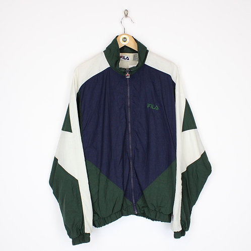 Vintage Fila Shell Jacket XL