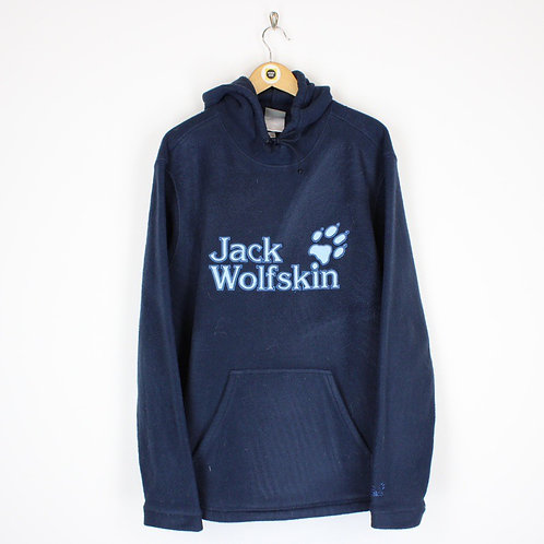 Vintage Jack Wolfskin Fleece Hoodie XL