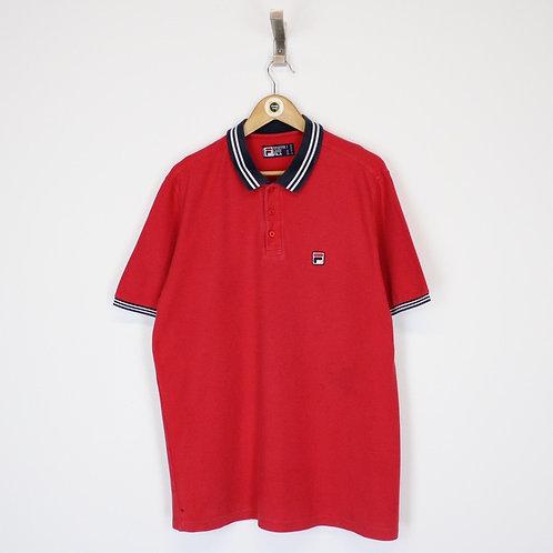 Vintage Fila Polo Shirt XL