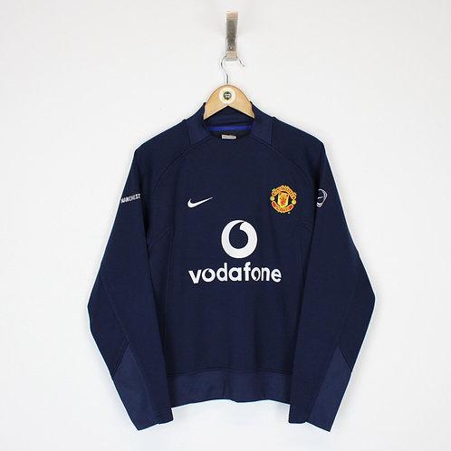 Vintage Nike Man Utd Sweatshirt Small