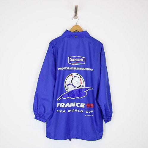 Vintage 1998 France World Cup Jacket Large