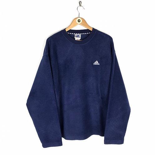 Vintage 90's Adidas Fleece Sweatshirt XL