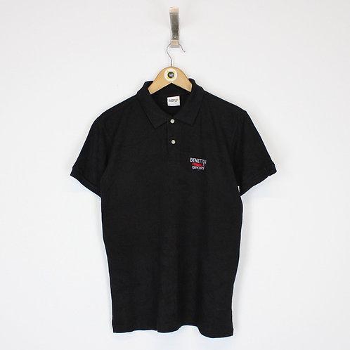 Vintage Benetton Polo Shirt Small