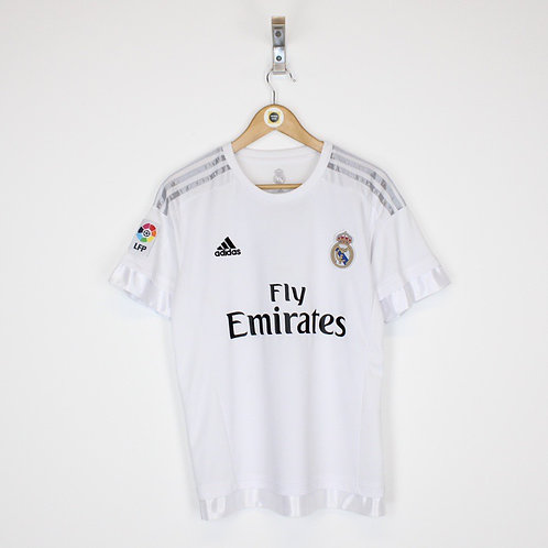 Vintage Real Madrid 2015/16 Football Shirt Small