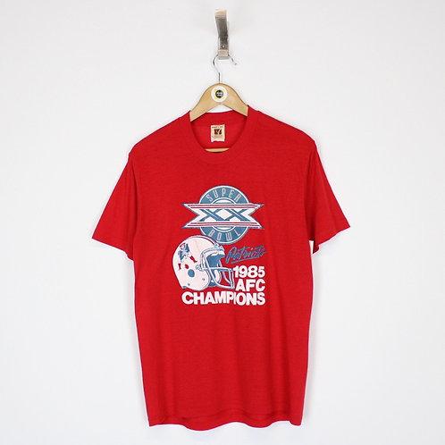 Vintage 1985 NFL New England Patriots T-Shirt Small