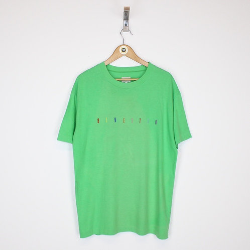 Vintage Benetton T-Shirt Large
