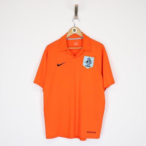 Vintage 2006/08 Nike Holland Shirt Large