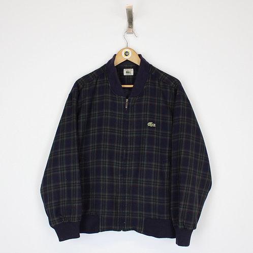 Vintage Lacoste Bomber Jacket Medium