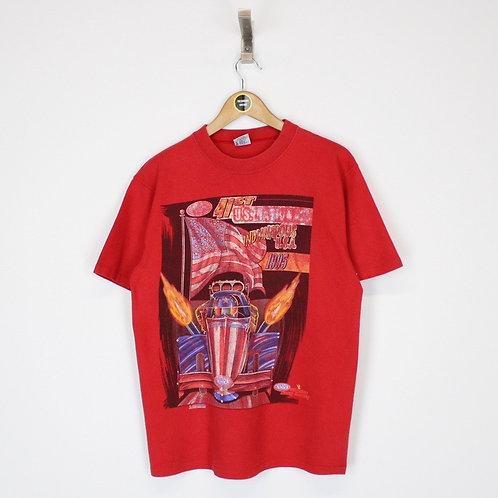 Vintage 1995 Nascar T-Shirt Medium