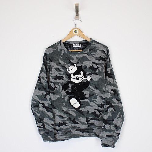 Vintage Felix The Cat Sweatshirt Medium