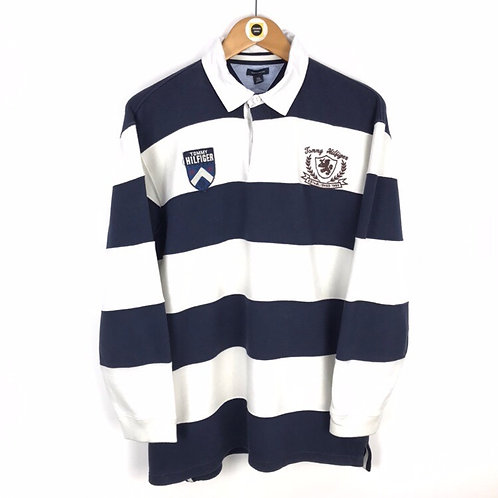 Vintage Tommy Hilfiger Rugby Shirt Medium