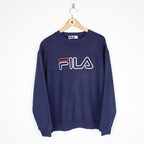 Vintage Fila Sweatshirt Medium