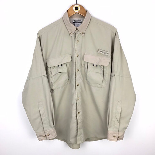 Vintage Columbia Tactical Shirt Small