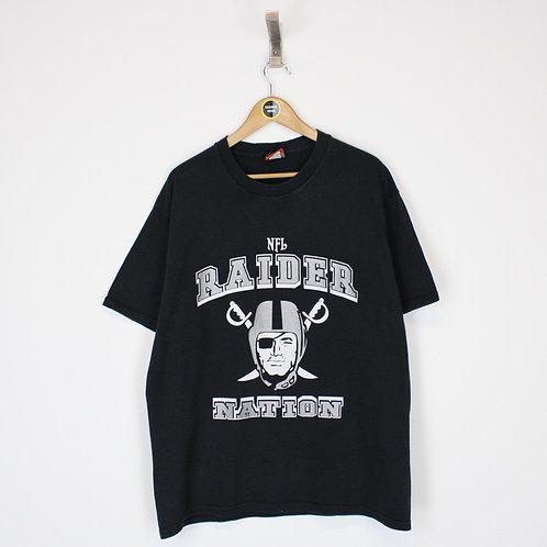 Vintage Las Vegas Raiders NFL T-Shirt Large
