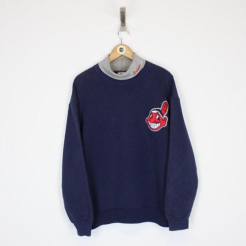 Vintage Cleveland Indians MLB Sweatshirt Large