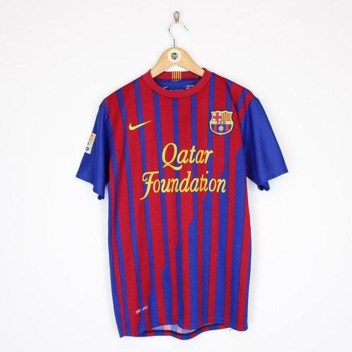 Vintage Barcelona 2011/12 Football Shirt Small