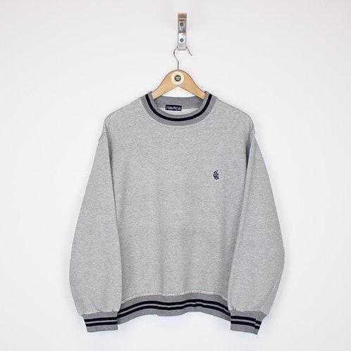 Vintage Nautica Sweatshirt Small