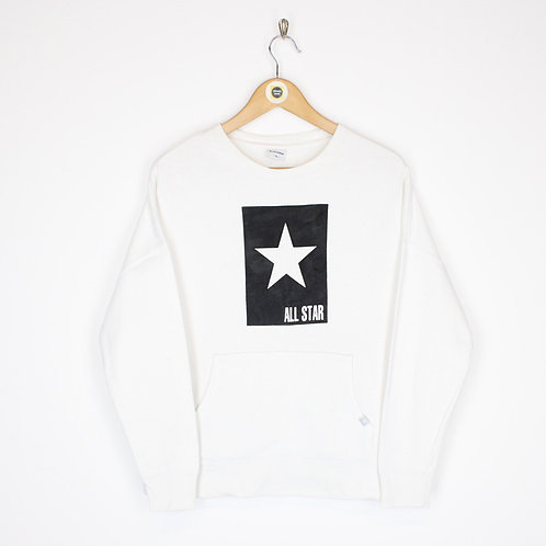 Vintage Converse Sweatshirt Medium