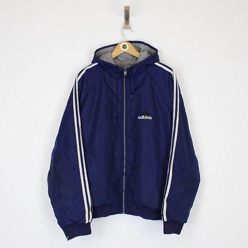 Vintage Adidas Reversible Jacket Large