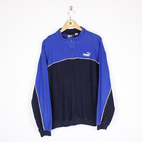 Vintage Puma Sweatshirt Large