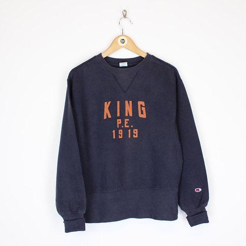 Vintage Champion USA Sweatshirt Medium