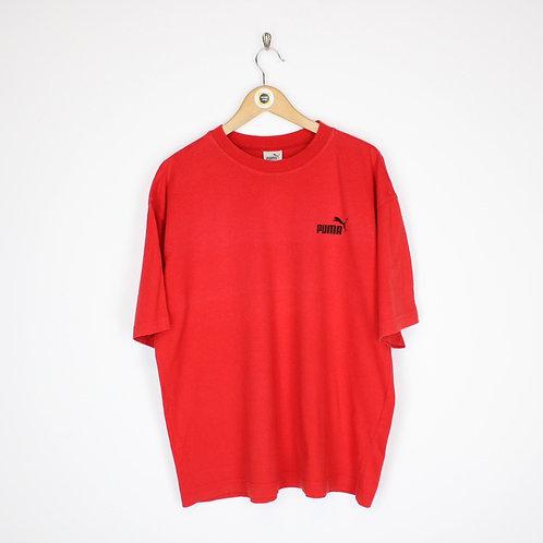 Vintage Puma T-Shirt Medium