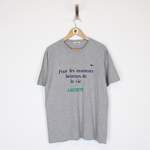 Vintage Lacoste T-Shirt Medium