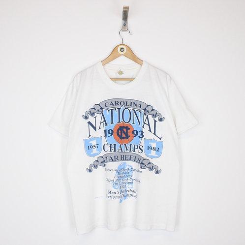 Vintage 1993 North Carolina T-Shirt Large