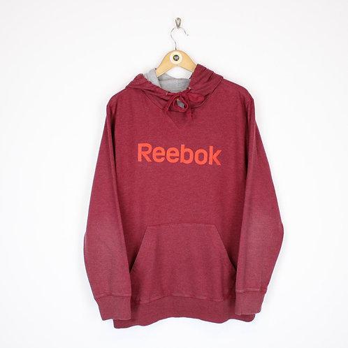 Vintage Reebok Hoodie Large