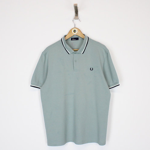 Vintage Fred Perry Polo Shirt Large