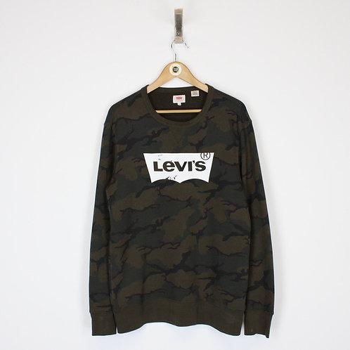 Vintage Levis Sweatshirt Medium