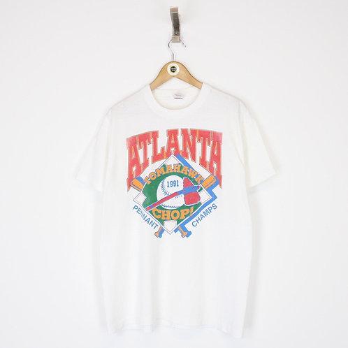 Vintage 1991 Atlanta Braves MLB T-Shirt XL