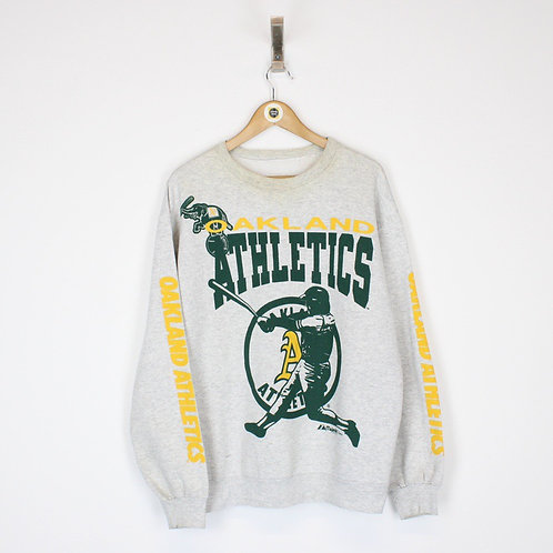 Vintage Oakland Athletics MLB Sweatshirt Large