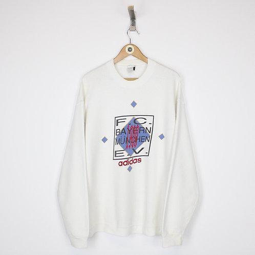 Vintage Adidas Bayern Munich Sweatshirt XL