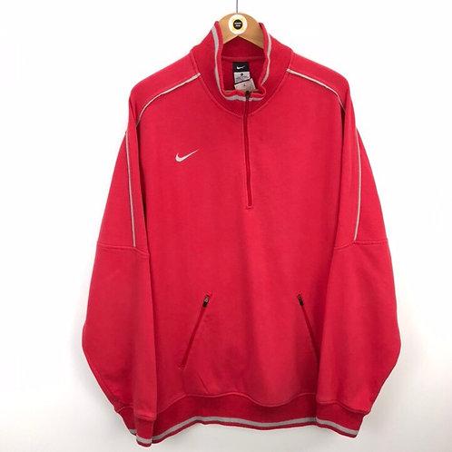 Vintage Nike 1/4 Zip Sweatshirt XL