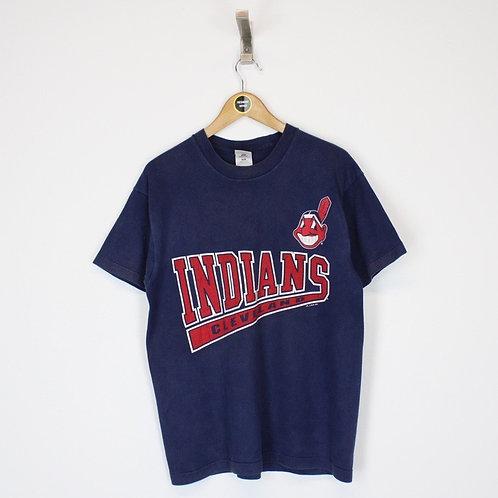 Vintage 1997 Cleveland Indians MLB T-Shirt Large