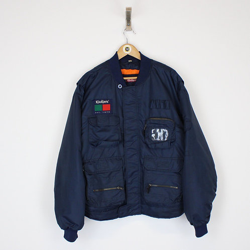 Vintage Kickers Bomber Jacket Large