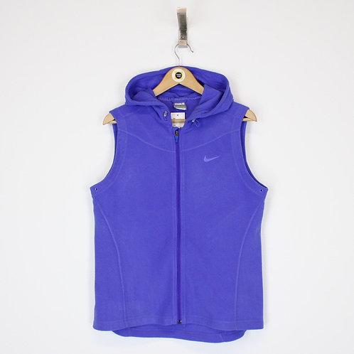 Vintage Nike Fleece Vest Large