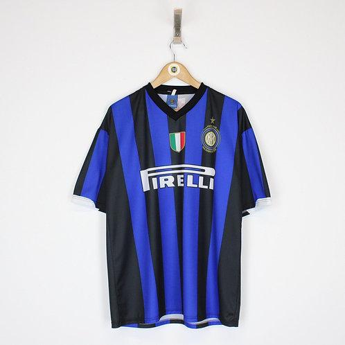 Vintage 2008 Inter Milan Anniversary Shirt XL