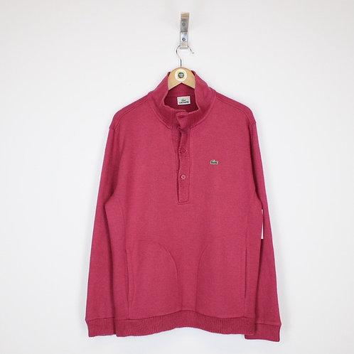 Vintage Lacoste Sweatshirt Large