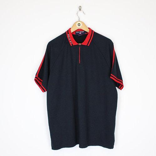 Vintage Polo Sport Polo Shirt Large