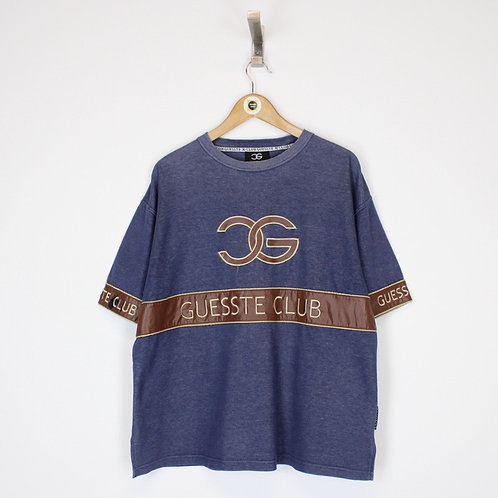 Vintage Guesste Club T-Shirt Medium