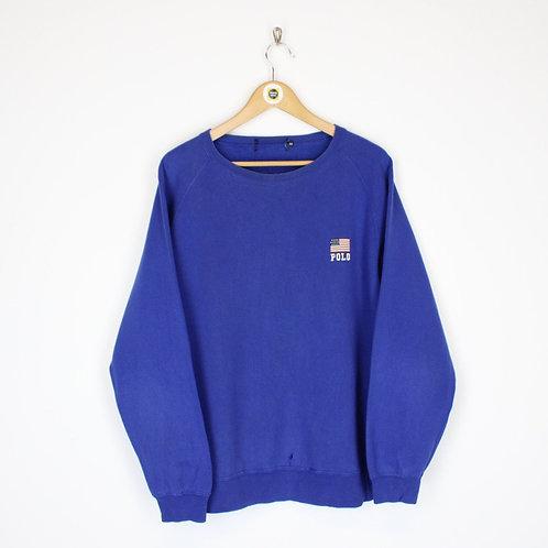 Vintage Polo Ball Sweatshirt XL