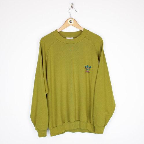 Vintage 90's Adidas Sweatshirt Large