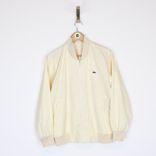 Vintage Lacoste Bomber Jacket Small