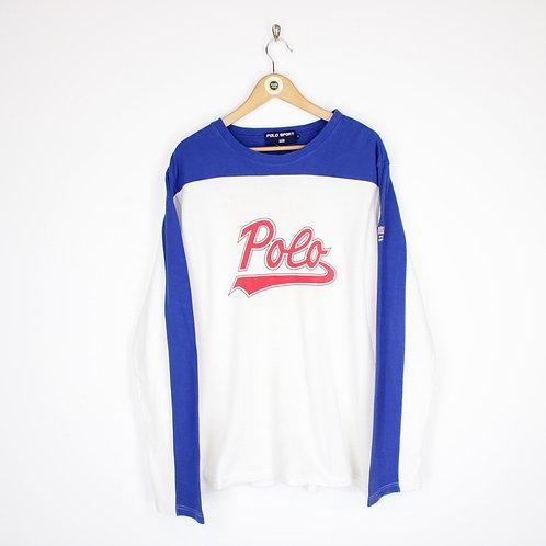 Vintage 90's Polo Sport T-Shirt Medium