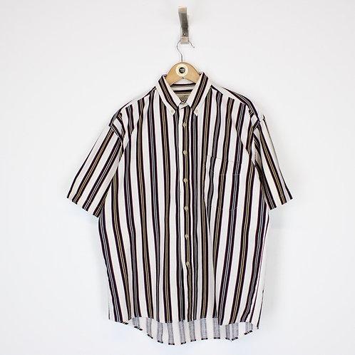 Vintage Striped Shirt Medium