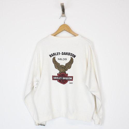 Vintage Harley Davidson Sweatshirt Large
