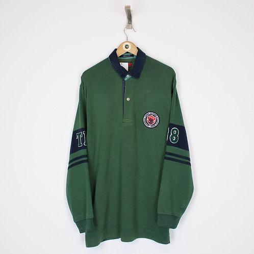 Vintage Tommy Hilfiger Rugby Shirt XL