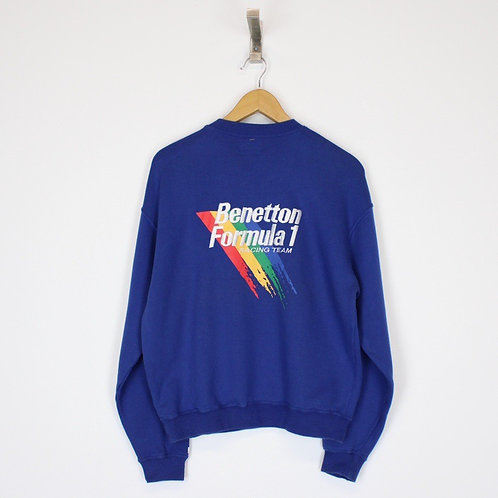 Vintage Benetton Sweatshirt Medium